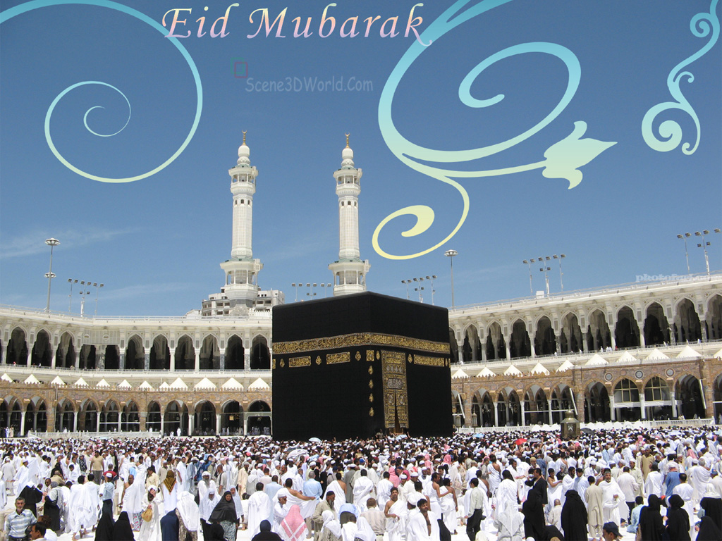 Images Of Eid Wallpapers Mubarak Wallpaper 2011 Khana Kaba ...